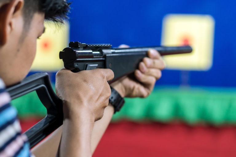 Air rifle shooting experience in Rovinj – Rovigno