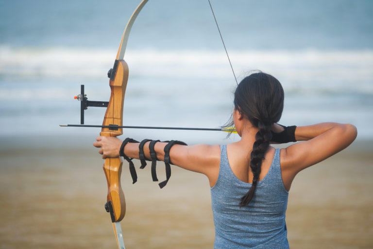 Archery experience with bow and arrow in Rovinj-Rovigno